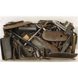 Lot of Metal Gun Parts