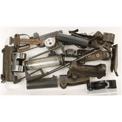 Lot of Military Gun Parts