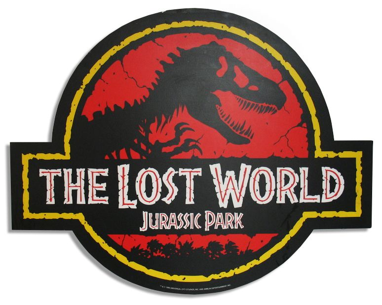 ''The Lost World: Jurassic Park'' Promotional Movie Sign