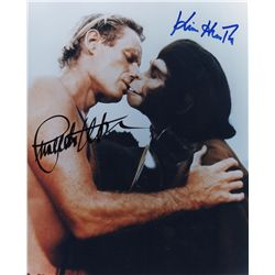 Charlton Heston & Kim Hunter Signed Photo from Planet of the Apes