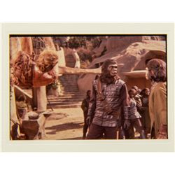 Set of 3 Vintage Studio Slides from Planet of the Apes 1968 Film and Television Series