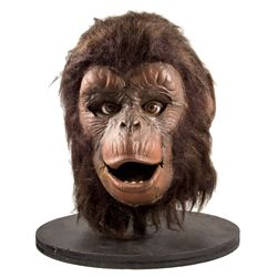 Rare Original Planet of the Apes Screen-used Background Chimp Mask