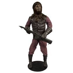 Planet of the Apes Hero Gorilla Soldier Display