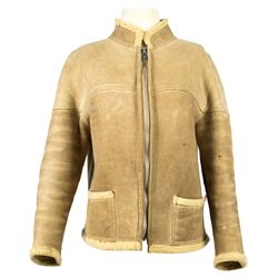 France Nuyen Mutant Alma Suede Jacket from Battle for the Planet of the Apes