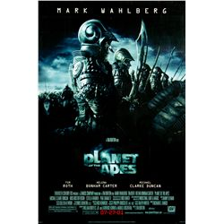 Original 2001 Planet of the Apes (2001) Version C 1-sheet Poster