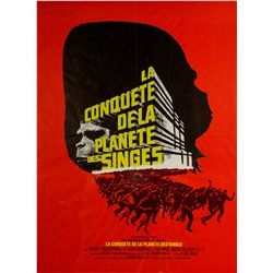 Conquest of the Planet of the Apes French Petite Poster