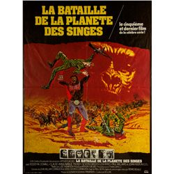Battle for the Planet of the Apes French Petite Poster
