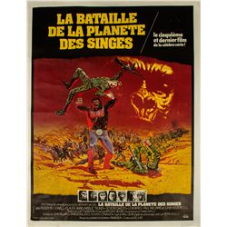 Battle for the Planet of the Apes French Grande Poster
