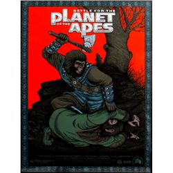 Battle for the Planet of the Apes Mondo Poster
