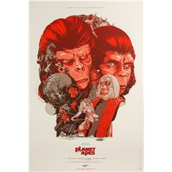 Planet of the Apes Mondo Variant Poster by Sideshow Collectibles