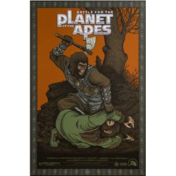 Battle for the Planet of the Apes Mondo Variant Poster by Sideshow Collectibles