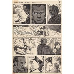 Original Comic Artwork for Marvel's Planet of the Apes #9 Page 51 by Mike Ploog