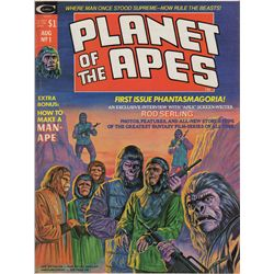 Collection of 10 Vintage Planet of the Apes Comic Books