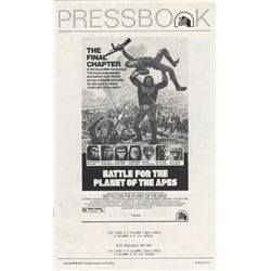 Vintage 1973 Battle for the Planet of the Apes Pressbook