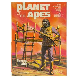 Vintage 1973 General Aldo Planet of the Apes Model Kit by Addar