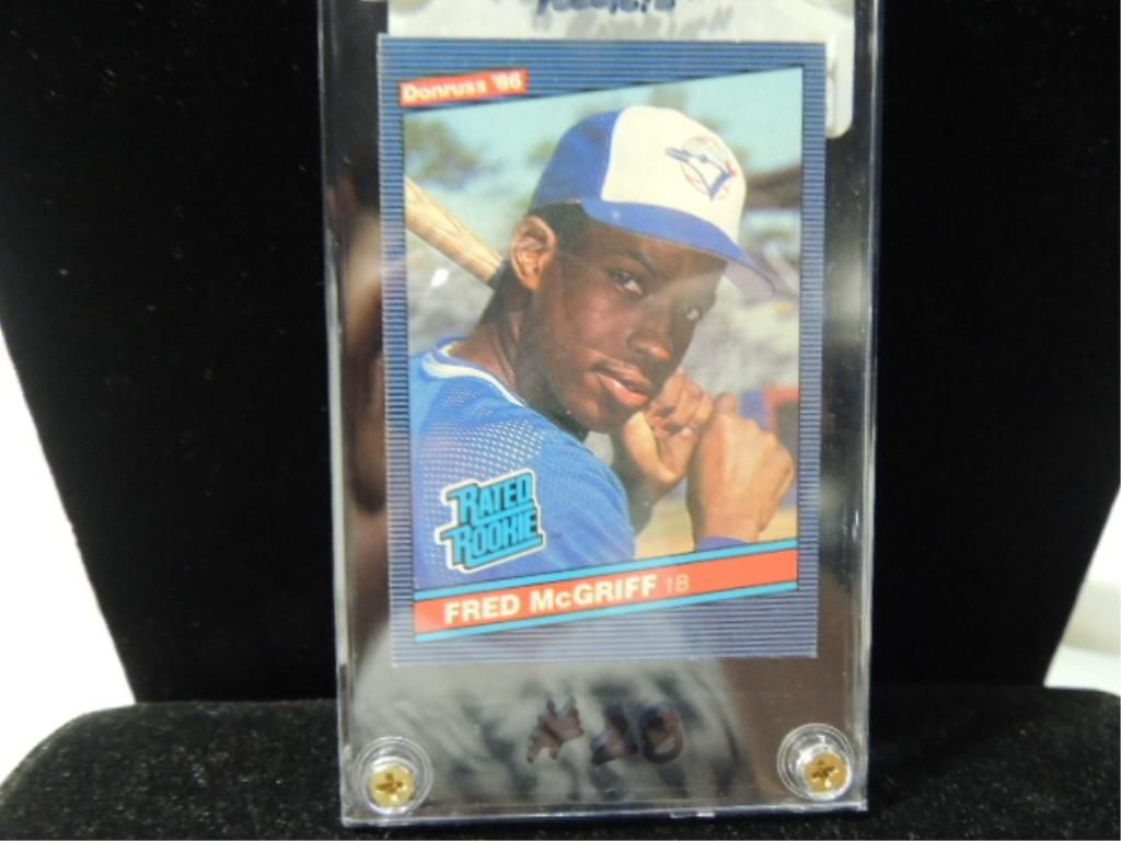 1986 Donruss Fred Mcgriff 28 Rookie Card