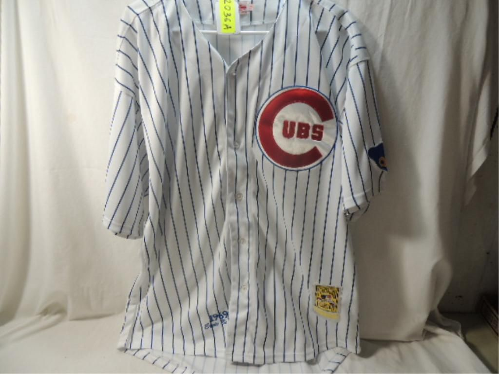 pretty nice 87525 35dfb MITCHELL & NESS CHICAGO CUBS ERNIE BANKS JERSEY