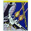 Image 2 : Roy Lichtenstein, As I Opened Fire, Rare Lifetime Edition Triptych