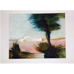 Claude Gaveau, Lavender, Signed Lithograph
