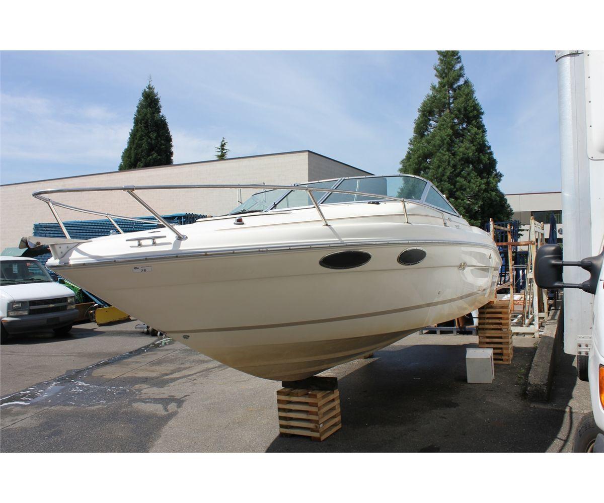 1994 searay signature 220 ski boat with mercruiser 5 7 liter v8 gas