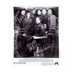 Enterprise Cast Signed Photo