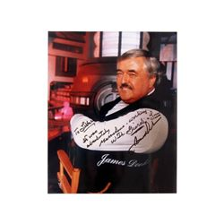 Star Trek Next Generation Scotty (James Doohan) Signed Color Photo
