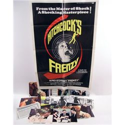 Hitchcock's Frenzy Poster/Lobby Cards/Photos