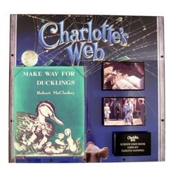 Charlotte's Web (2006) Make Way For Ducklings Screen Used Book Prop
