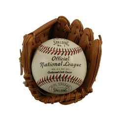 The Natural Production Made Official Spalding National League Baseball