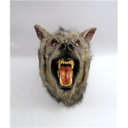 American Werewolf In London Rick Baker Signed Werewolf Head