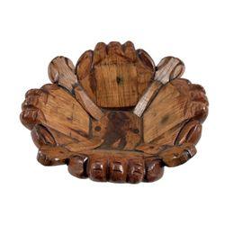 Hobbit (2012) Hand carved Wood Bowl Prop