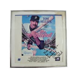 Mr. Baseball Tom Selleck Signed Lobby Card