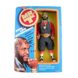 "Mr. T ""A-Team"" Autographed Action Figure In Original Box"