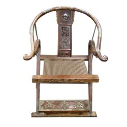 Pirates Of The Caribbean At World's End Sao Feng Ceremonial Chair Prop