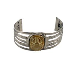 The Mummy (1999) Faux Silver & Gold Bracelet Prop