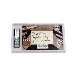 Lena Horne Autograph