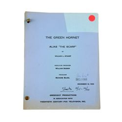 Green Hornet (TV Series-1967) Original Teleplay