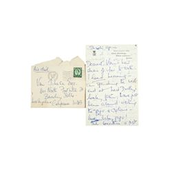 Merle Oberon Handwritten & Signed Personal Letter