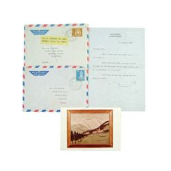 Noel Coward Signed Personal Letter