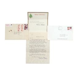 Lillian Gish Signed Personal Letters