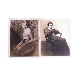 Katharine Cornell Autographed Photos