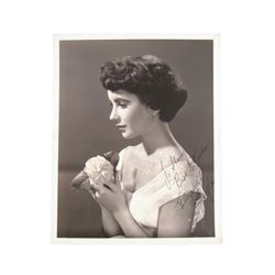 Elizabeth Taylor Personalized Autographed MGM Photo