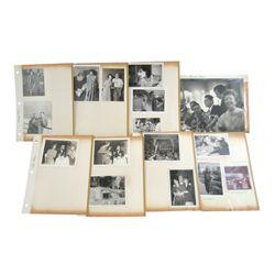 Van Johnson Personal Family Album Photos With Famous Stars