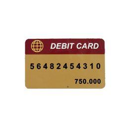 Barb Wire Debit Card Prop