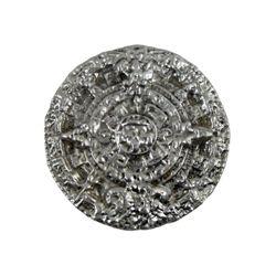 Indiana Jones Crystal Skull Aztec Calendar Medallion Prop