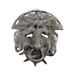 Indiana Jones Crystal Skull Nazca Native Face-Plate Prop
