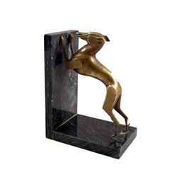 The World Is Not Enough Art Deco Greyhound Prop