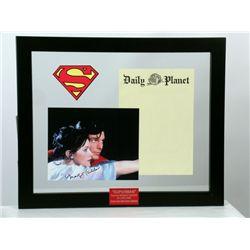 Superman (1978) Lois Lane (Margot Kidder) Photo-Autograph & Daily Planet Prop