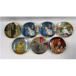Gone With The Wind First Issue Limited Edition Knowles-Kursar MGM Plates