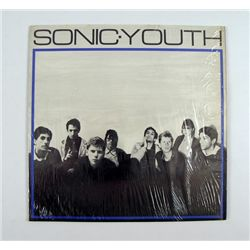 Sonic Youth Original Album On Neutral Signed By Drummer Richard Edson